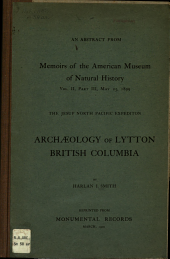 Archaeology of Lytton, British Columbia