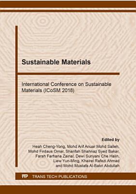 Sustainable Materials PDF
