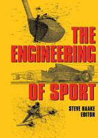 The Engineering of Sport PDF