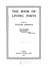 The Book of Living Poets