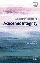 A Research Agenda for Academic Integrity PDF
