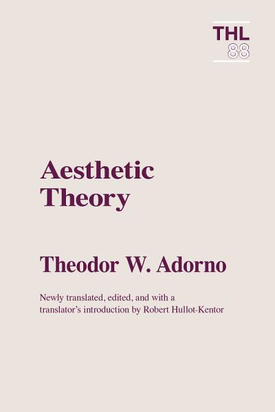 Download Aesthetic Theory Book
