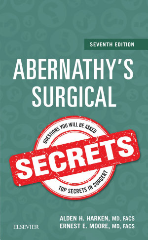 Abernathy s Surgical Secrets E Book
