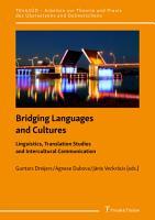 Bridging Languages and Cultures PDF