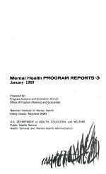 Mental Health Program Reports-3