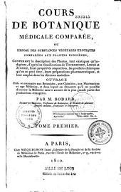 Cours de botanique médicale