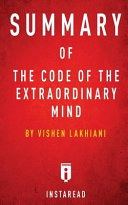 Summary Of The Code Of The Extraordinary Mind Book PDF