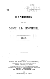 Handbook for the 5-inch B.L. Howitzer, 1903