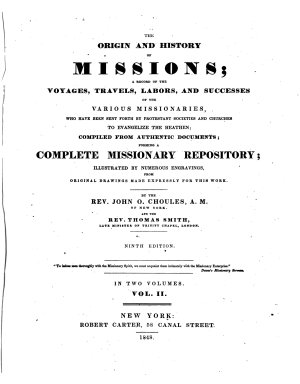 The Origin and History of Missions PDF