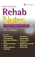 Rehab Notes PDF