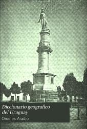 Diccionario geografico del Uruguay