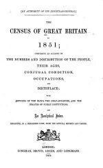The Census of Great Britain in 1851