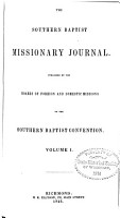 Southern Baptist Missionary Journal PDF