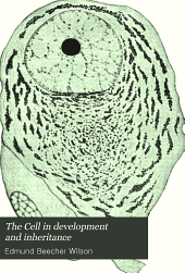 The Cell in Development and Inheritance: Volume 4, Part 1