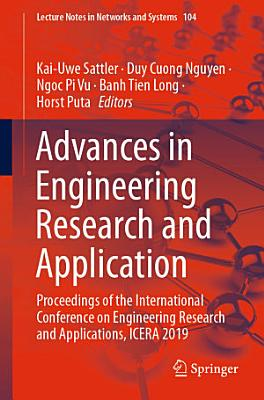 Advances in Engineering Research and Application PDF