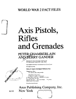Axis Pistols, Rifles, and Grenades