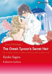 The Greek Tycoon's Secret Heir: Harlequin Comics