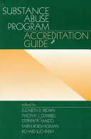 Substance Abuse Program Accreditation Guide