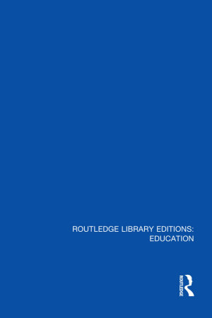 Routledge Library Editions  Education Mini Set M Special Education and Inclusion PDF