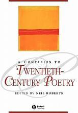 A Companion to Twentieth Century Poetry PDF