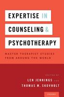 Expertise in Counseling and Psychotherapy PDF