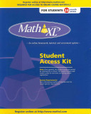 Mathxl    Standalone Access Card  24 Month Access