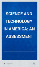 Science and Technology in America PDF