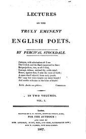 Spenser. Shakespeare. Milton. Dryden. Pope. Young