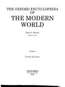 The Oxford Encyclopedia of the Modern World PDF