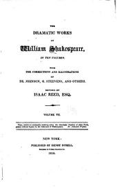 The Dramatic Works of William Shakespeare: King Richard III. King Henry VIII. Coriolanus