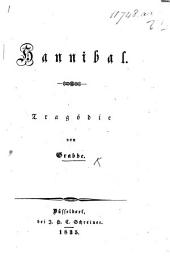 Hannibal. Tragödie [in five acts and in prose].