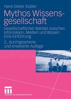 Mythos Wissensgesellschaft PDF