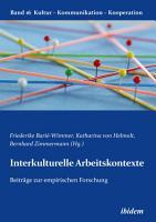 Interkulturelle Arbeitskontexte PDF
