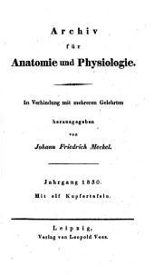 Archiv für Anatomie und Physiologie: Band 15