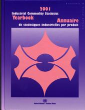 2001 Industrial Commodity Statistics Yearbook: Production Statistics (1992-2001)