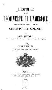 Les précurseurs de Colomb