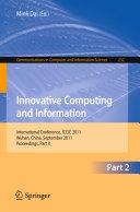 Innovative Computing and Information