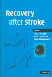 Recovery After Stroke Book PDF
