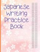Japanese Writing Practice Book