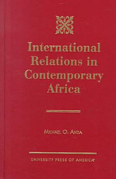 International Relations in Contemporary Africa PDF