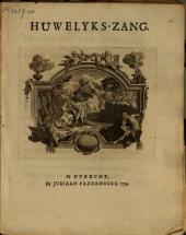Huwelyks-zang