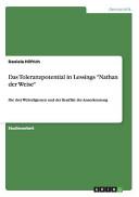 Das Toleranzpotential in Lessings  Nathan der Weise  PDF