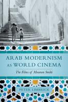 Arab Modernism as World Cinema PDF