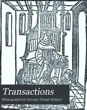Transactions: Volume 5