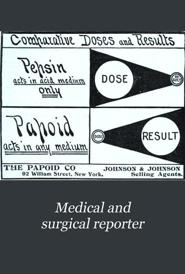 The Medical and Surgical Reporter PDF
