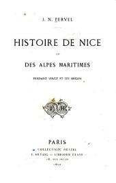 Histoire de Nice et des Alpes Maritimes pendant vingt et un siècles