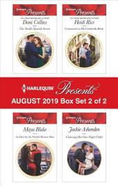 Harlequin Presents - August 2019 - Box Set 2 of 2
