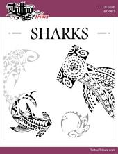 SHARKS - Design Book: Polynesian style designs for tattoo artists