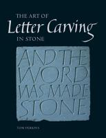 Art of Letter Carving in Stone PDF