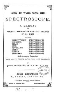 How to work with the spectroscope PDF